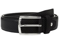 Bugatchi Nero Perforated Belt Nero Men's Belts Black