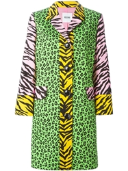 Moschino Cheap And Chic Animal Print Coat