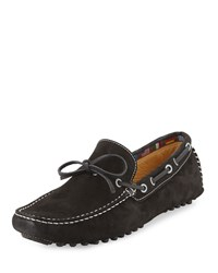 Neiman Marcus Blacks Beach Nubuck Driver