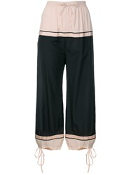 Jean Paul Gaultier Vintage Cropped Balloon Trousers Pink And Purple
