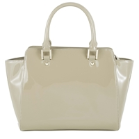 Collection By John Lewis Small Patent Wings Grab Bag Taupe