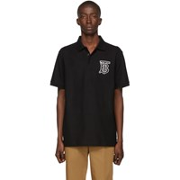 Burberry Black Monogram Warren Polo