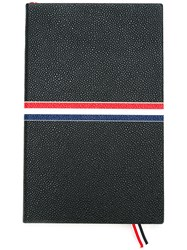 Thom Browne Large Notebook With Red Black