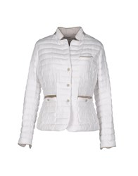Jan Mayen Down Jackets White