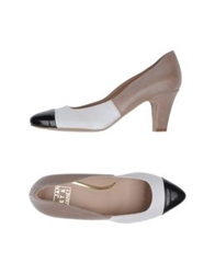 Janet And Janet Pumps Dove Grey