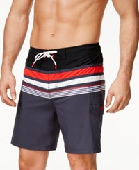 Speedo Men's Nautical Board Shorts 8 Granite
