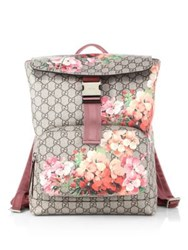 Gucci Gg Blooms Backpack Beige Multi
