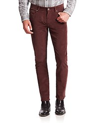 Michael Kors Slim Fit Corduroy Pants Husk