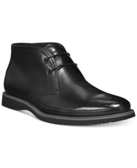 Kenneth Cole Grade R Good Wedge Chukka Boots Men's Shoes Black