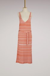 Maison Ullens Sleeveless Midi Dress Multicolor Mineola