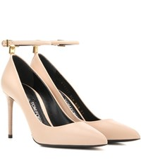 Tom Ford Leather Pumps Neutrals