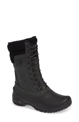The North Face Shellista Waterproof Insulated Snow Boot Black Black