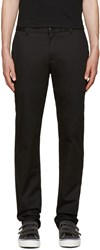 Naked And Famous Black Slim Chinos