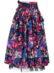 Marc Jacobs Daisy Belted Skirt Black