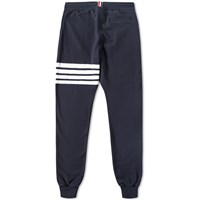 Thom Browne Engineered Stripe Sweat Pant Blue