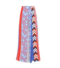 Kenzo Printed Maxi Skirt Multicoloured
