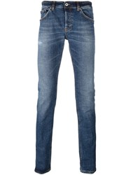 Dondup 'Lucky' Slim Fit Jeans Blue