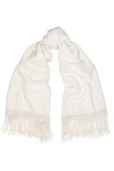 Lemaire Fringed Alpaca Scarf