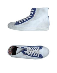 Le Crown High Top Sneakers Blue