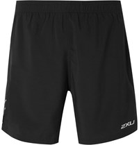 2Xu Shell Running Shorts Black