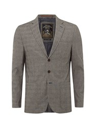 White Stuff Blackball Check Blazer Grey