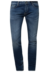 Japan Rags 611Droit Slim Fit Jeans Blue Blue Denim