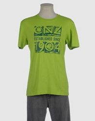 Canterbury Of New Zealand Short Sleeve T Shirts Light Green