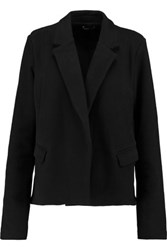 James Perse Cotton Fleece Coat Black