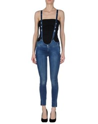 Met And Friends Dungarees Trouser Dungarees Women Blue