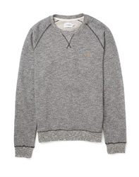 Farah Vintage Sweatshirt In Brushed Loopback
