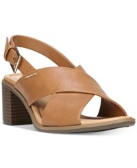 Dr. Scholl's Sequence Dress Sandals Women's Shoes Tan