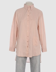 Rika Long Sleeve Shirts Pastel Pink