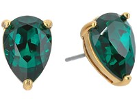 Kate Spade Shine On Teardrop Studs Emerald Earring Green