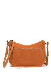 Hobo Karder Small Leather Crossbody Adobe