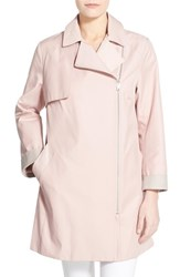 Women's Cole Haan Moto Swing Coat Canyon Rose