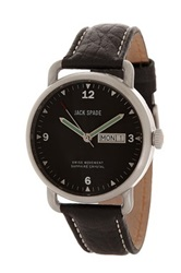 Jack Spade Men's Bucker Watch Black