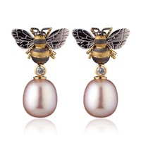 Theo Fennell Bee Drop Earrings Female