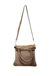Erica Anenberg Soho Leather Crossbody Brown