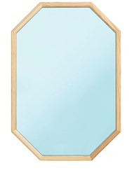 Normann Copenhagen Large Lust Mirror Blue Brown