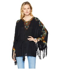 Double D Ranchwear Macedonia Top Black Clothing