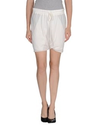 Rick Owens Mini Skirts Ivory