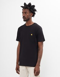 Carhartt Wip Chase Short Sleeve T Shirt Black