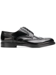 Dolce And Gabbana Varnished Oxford Shoes Black