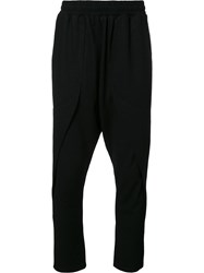 Private Stock Slim Fit Cropped Trousers Black