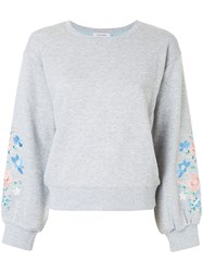 Guild Prime Classic Knitted Sweater Cotton Polyester Grey