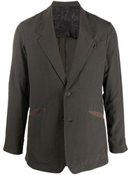 Devoa Long Sleeved Blazer Grey