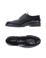 Hamaki Ho Lace Up Shoes Black