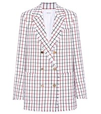 Thom Browne Wool Double Breasted Blazer Multicoloured