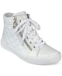 G By Guess Orily Quilted High Top Sneakers Women's Shoes