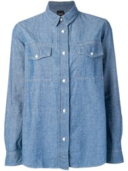 Aspesi Chambray Shirt Blue